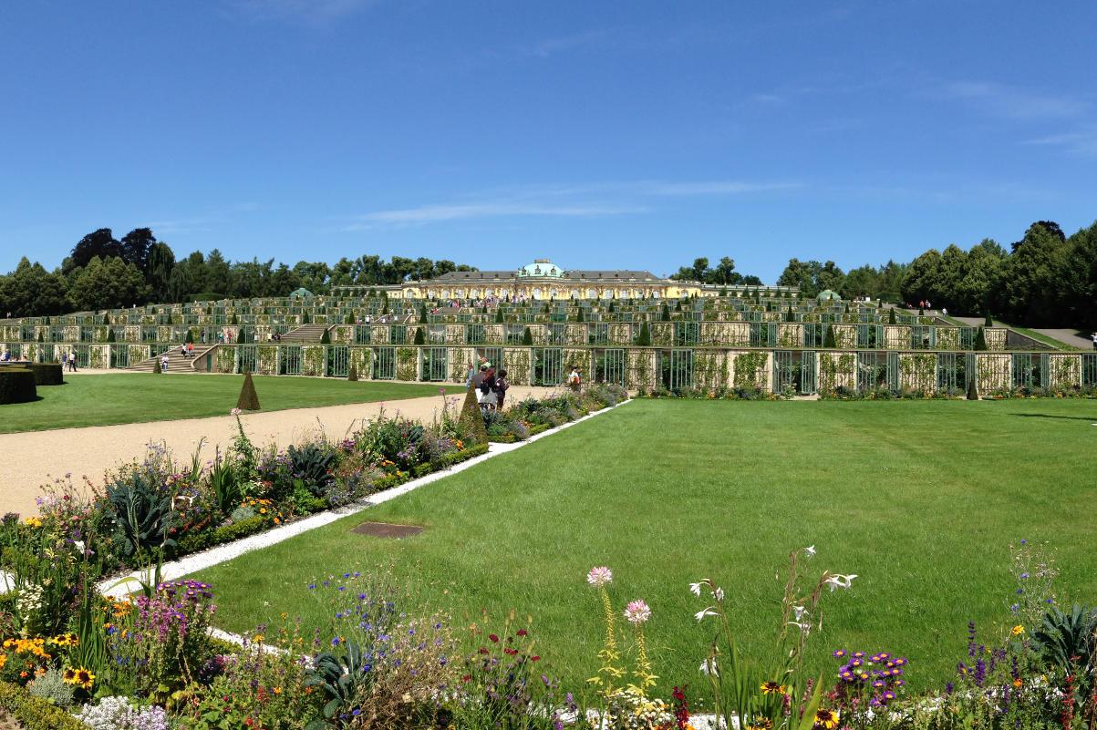 Ambiance du Jardin de Sanssouci