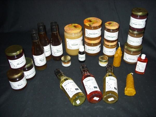 Confits, vinaigres, sirops Les Délices des petites abeilles
