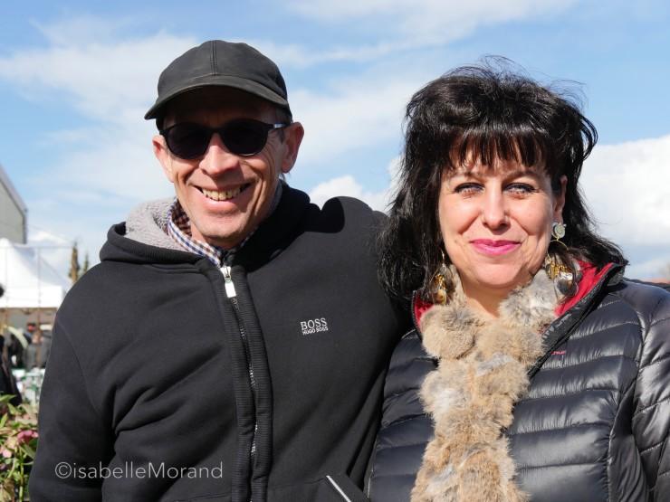 Sandrine et Thierry Delabroye