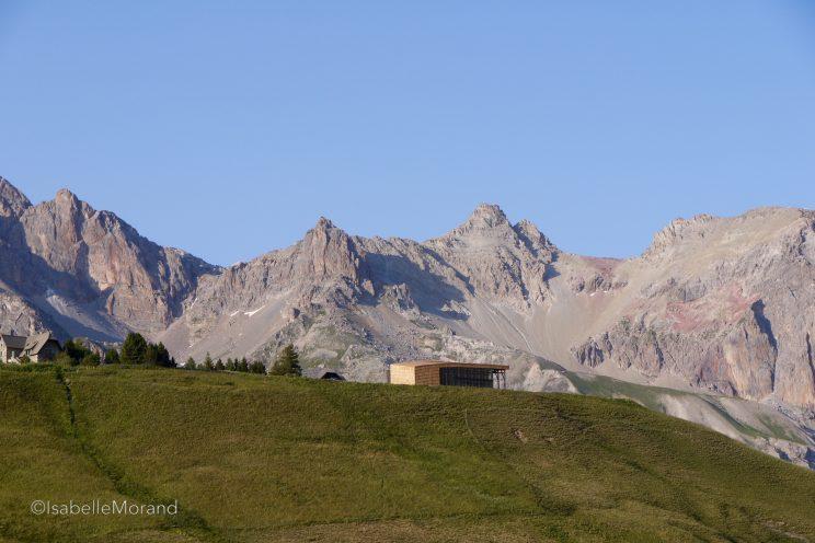 La nouvelle Galerie de l'Alpe dans son magnifique écrin.