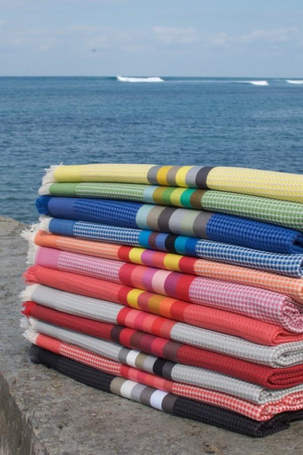 Drap de bain Zanzibar Tissage de Luz