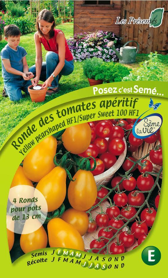 Tomates graines Ferme de Sainte Marthe