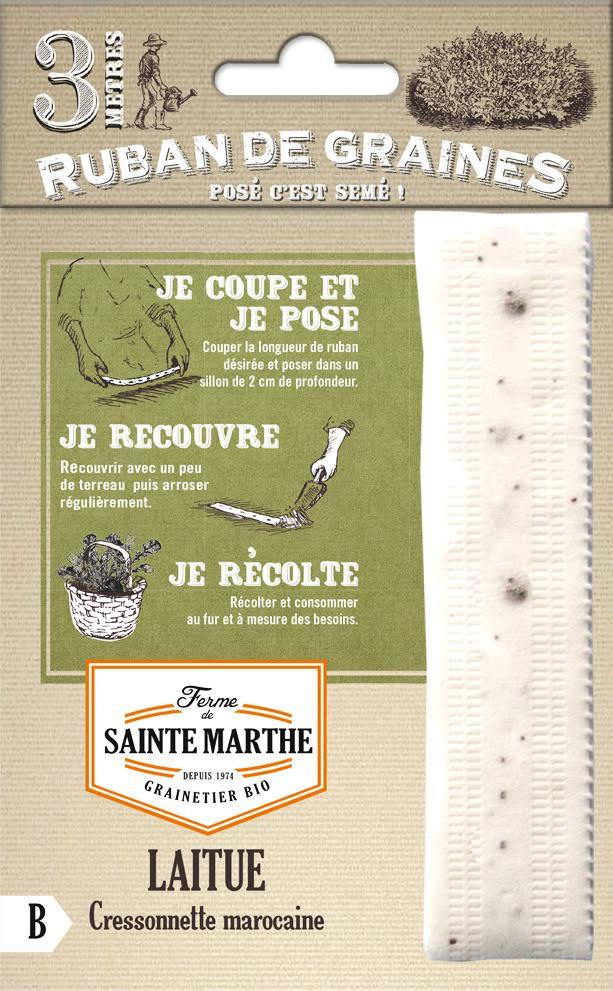 Laitue à semer Ferme de Sainte-Marthe